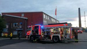Teollisuusrakennus paloi Tampereen Nekalassa