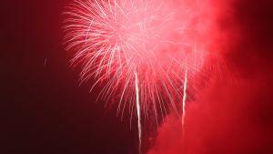 Tässä itsenäisyyspäivän ilotulitusta Washingtonissa vuonna 2015.