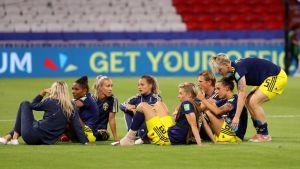 Ruotsin naisten jalkapallomaajoukkue
