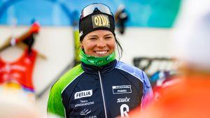 Krista Pärmäkoski hakee kesäharjoitteluunsa sparria muista maajoukkueista.