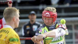IPV:n Jere Dahlström oli oivassa vedossa Hyvinkään Tahkoa vastaan.