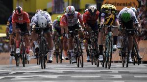 Ranskan ympäriajon avausetappi päättyi Mike Teunissenin voittoon.