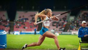 Saga Andersson Suomi–Ruotsi-ottelu 2018