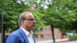 Lahden kaupunginjohtaja Pekka Timonen