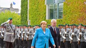 Antti Rinne ja Angela Merkel tapaavat Berliinissä.