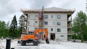 Lappeenrannan Tyysterniemeen rakennetaan 5-kerroksista vuokra-asuintaloa.