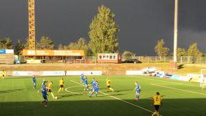 Kuopion Palloseura pelasi valkovenäläistä FC Vitebskiä vastaan.