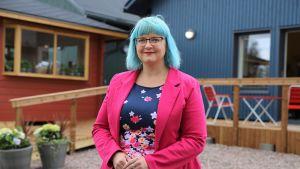Tiina Heikka, Lapinjärven kunnanjohtaja.