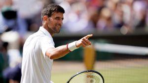 Novak Djokovic eteni taas kerran loppuotteluun
