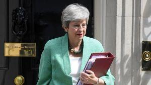 Theresa May jättää pääministerin tehtävänsä heinäkuussa.