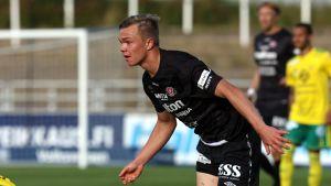 17-vuotias Pyry Lampinen ratkaisi FC Lahdelle.