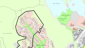 Vedenlaatuhäiriö kartta 17.7.2019