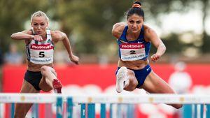 Annimari Korte vei keskiviikkona nimiinsä Nooralotta Nezirin Suomen ennätyksen 100 metrin aitajuoksussa.