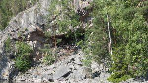 Ukonvuori Koloveden kansallispuistossa
