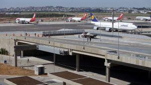 Guarulhosin lentokenttä toukokuussa 2014 otetussa kuvassa.