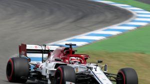 Kimi Räikkönen Hockenheimissa.