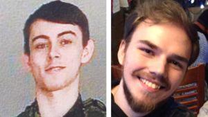 Poliisin julkaisema kuva etsityistä nuorukaisista.