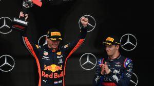 Max Verstappen Hockenheimin voittoon.