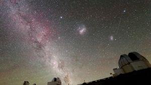 La Sillan observatorio Chilessä.