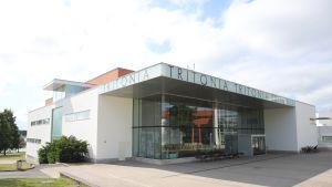 Tiedekirjasto Tritonia Vaasan yliopiston kampuksella.