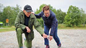 Olavi Laitala ja Eva Reinikainen.