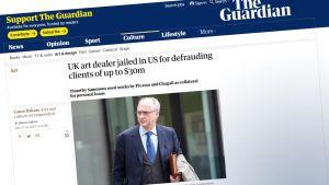 kuvakaappaus The Guardian-lehdestä