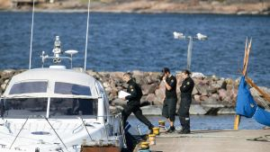 Moottorivene ja purjevene törmäsivät Airistolla 3. elokuuta.