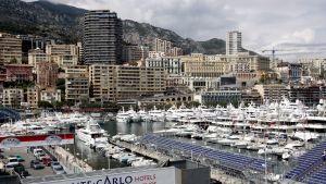 Monte Carlon satama Monacossa.