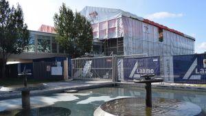 Turun yliopiston päärakennus on remontissa.
