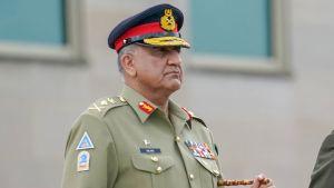 Qamar Javed Bajwa Pentagonissa heinäkuussa 2019.