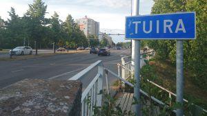 Tuira, Oulu, kaupunginosa, kyltti, Merikoskenkatu, Merikoski