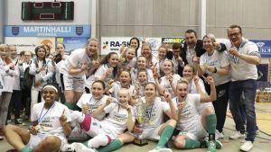 Hyvinkään Ponteva Suomen mestari 2017