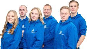 Riverian joukkue Kazanin MM-kisoissa elokuussa 2019.