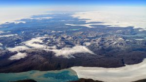 Ilmakuva Grönlannista.
