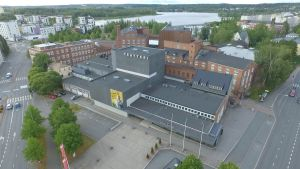 Ilmakuva Hämeenlinnan teatterista