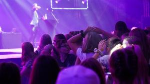 Tubecon-tapahtuma Helsingin Messukeskuksessa 17. elokuuta.