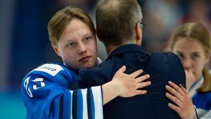 Vasta 17-vuotias Viivi Vainikka kuuluu Naisleijonien nuoriin lupauksiin.