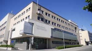 Pohjanmaan käräjäoikeuden toimitalo Vaasassa.