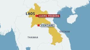 Laos, Luang Prabang.