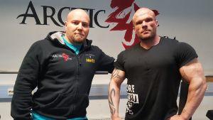 Mikko Leinonen ja Sami Jaukkuri.