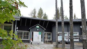 Korvatunturin opastuskeskus metsähalitus luontopalvelut luontokeskus kompensaastio UK-puisto Savukoski