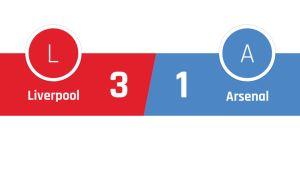 Liverpool - Arsenal 3-1