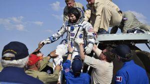 Anne McClain palasi komennukseltaan kansainvälisellä avaruusasemalla ISS:llä kesäkuussa 2019.