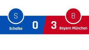 Schalke - Bayern München 0-3