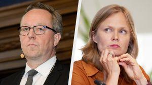 Hanna Kosonen ja Mika Lintilä.