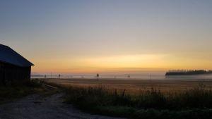 Sääkuva: Elokuinen aamu