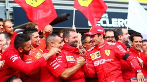 Charles Leclerc, Ferrari, Belgia 2019