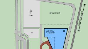 Uusi yhtenäiskoulu suunnitellaan Lehmon alakoulun yhteyteen.