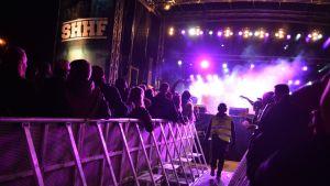 Seinäjoen Hiphop-festivaalin Lelu-lavalla esiintyi avajaispäivänä muun muassa yhdysvaltailainen Chris Webby.