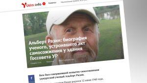 Kuvakaappaus Udm-info sivustolta